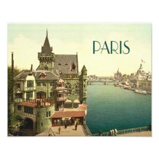 Vintage Paris 1900's Fototryck