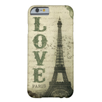 Vintage Paris Barely There iPhone 6 Skal