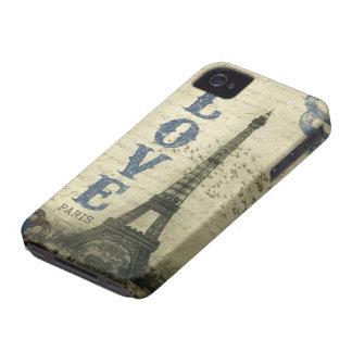 Vintage Paris Case-Mate iPhone 4 Skydd