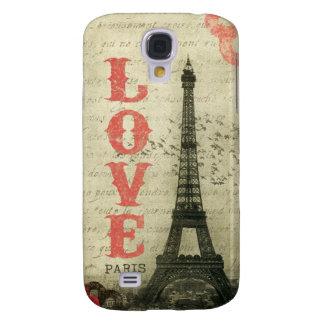Vintage Paris Galaxy S4 Fodral