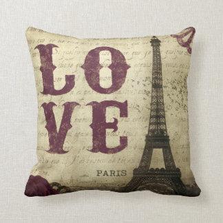 Vintage Paris Kudde