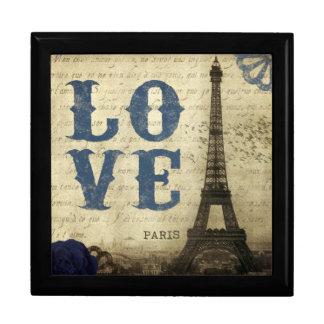 Vintage Paris Stor Presentask