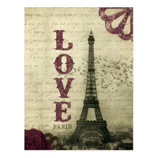 Vintage Paris Vykort