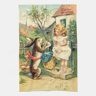 Vintage: påsk - kökshandduk