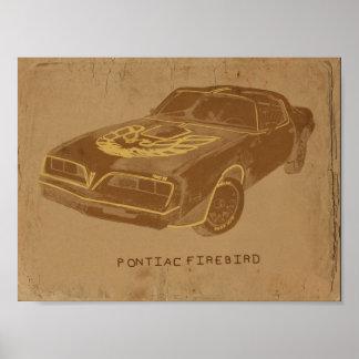 Vintage Pontiac Poster