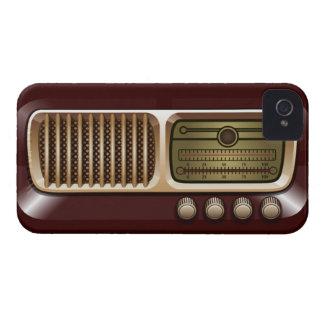 Vintage radiosände mottagareblackberry boldfodral Case-Mate iPhone 4 fodraler