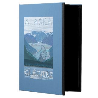 Vintage resor för AlaskaLarge glaciärplats iPad Air Skal