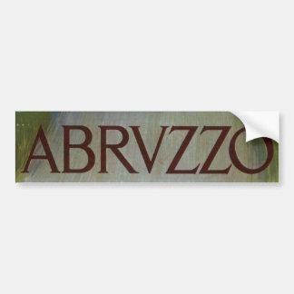 Vintage resor kvinnor av Abruzzo, italien Bildekaler