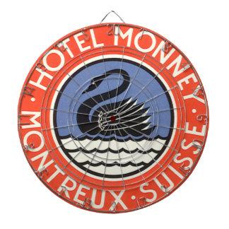 Vintage resor svanfågelhotell Monney Schweitz Piltavla