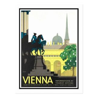 Vintage resoraffisch, Wien Vykort