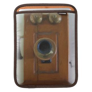 Vintage ringer ipad sleeve