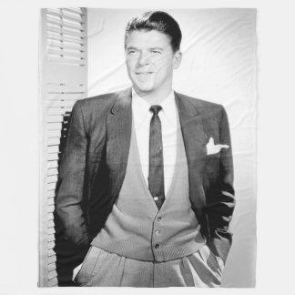 Vintage Ronald Reagan Fleecefilt
