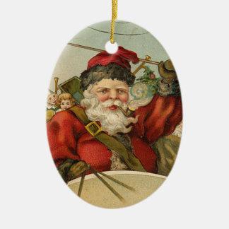 Vintage Santa Juldekoration