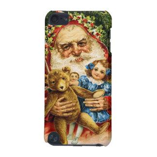 Vintage Santa med nalle och dockor iPod Touch 5G Fodral