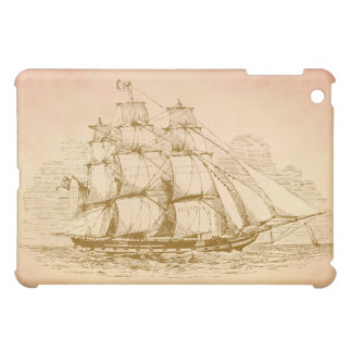 Vintage seglar frakten iPad mini fodral