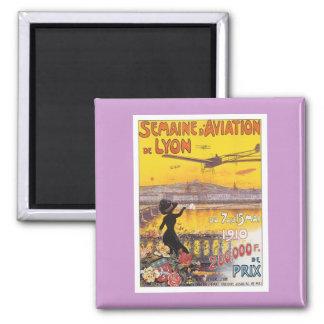Vintage Semaine D'aviation Magnet