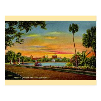 Vintage sjöEola Orlando Florida vykort