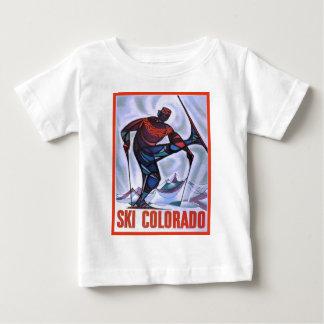 Vintage skidar affischen, skidar Colorado T Shirts