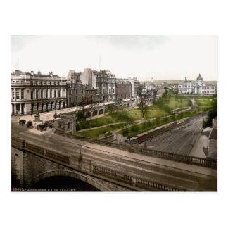 Vintage Skottland, Aberdeen, facklig terrass Vykort