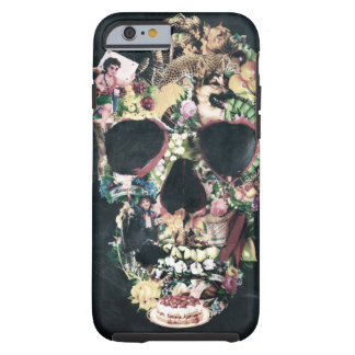 Vintage Skull Tough iPhone 6 Case