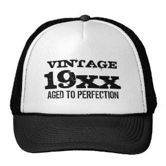 Vintage som åldras till den för manar keps
