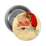 Vintage som ler objektet för gåva för Santa Knappar