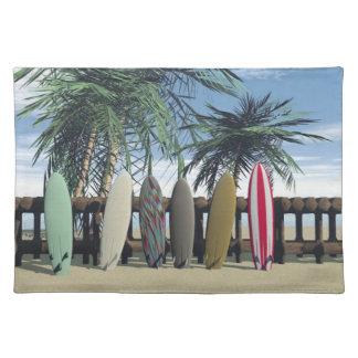 Vintage som surfar bordstablett