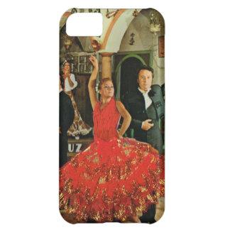 Vintage Spanien, flamencodansare iPhone 5C Fodral