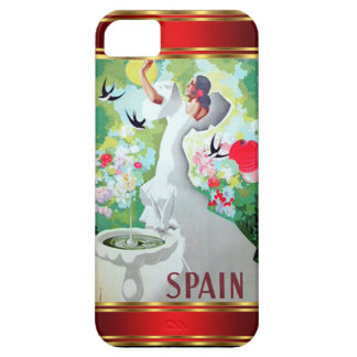 Vintage Spanien för IPhone 5 Fodral-Kompis fodral Barely There iPhone 5 Fodral