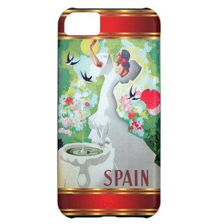Vintage Spanien för IPhone 5 Fodral-Kompis fodral iPhone 5C Fodral