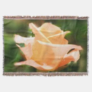Vintage steg blommor #3 filt
