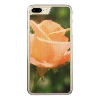Vintage steg blommor carved iPhone 7 plus skal