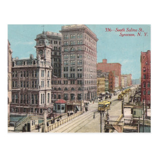 Vintage Syracuse NY Vykort
