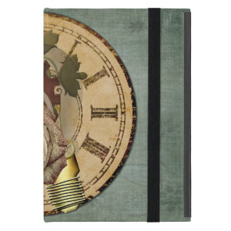 Vintage tar tid på Collage iPad Mini Skydd