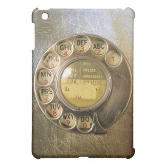 Vintage_Tele_Dial_03 iPad Mini Mobil Fodral