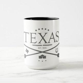 Vintage Texas Est. Kaffemugg för 1836 pilar