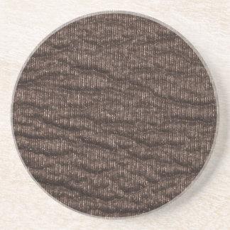 Vintage texturerat brunt läder underlägg sandsten