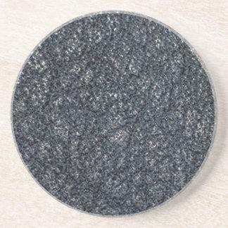 Vintage texturerat svart läder underlägg sandsten