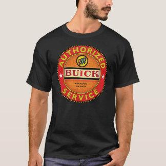 Vintage tjänste- Buick undertecknar Tee Shirt