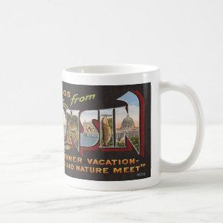Vintage Wisconsin Kaffemugg