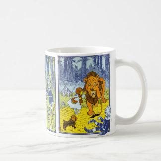 Vintage Wizard of Oz Dorothy & Toto Kaffemugg