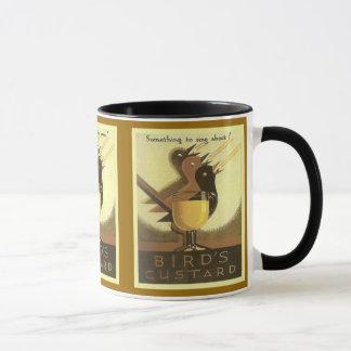 Vintageadvertizing, fågel Custard Mugg