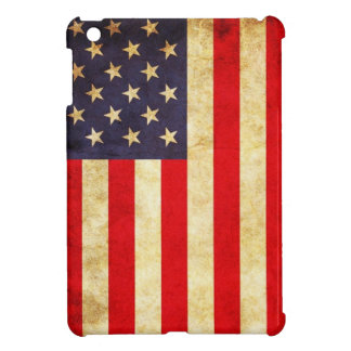 Vintageamerikanska flaggan iPad mini fodral
