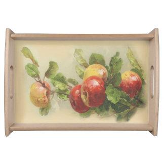 Vintageäpplen Serveringsbricka