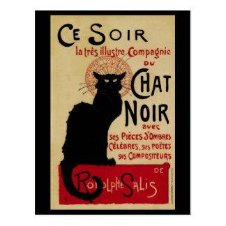 Vintageart nouveau, Le Prata Noir Vykort