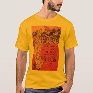 Vintageart nouveaumusik, LaBoheme opera, 1896 Tshirts