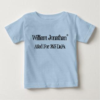 Vintagebabyfödelsedag T-shirt