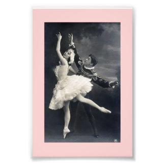 Vintagebalettdansörer Fotokonst