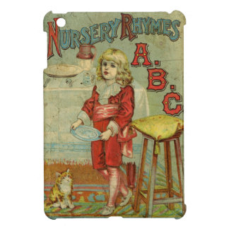 Vintagebarnkammare rimmar ABC-barns bokomslag iPad Mini Mobil Skal