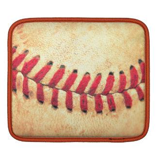 Vintagebaseballboll iPad Sleeve